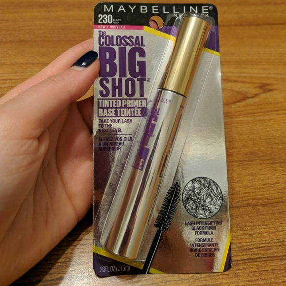 3eb1fb53627 Maybelline Makeup | Colossal Big Shot Tinted Primer 230 | Poshmark
